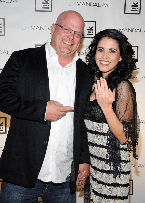 Pawn Star's Rick Harrison with fiance Deanna Burditt