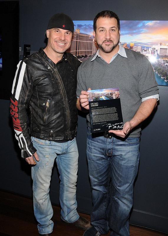 Peter Lik and Joey Fatone