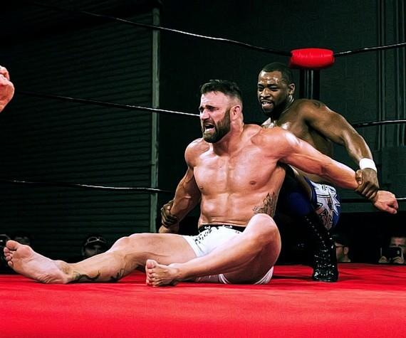 "Phil Baroni and Kenny King at 3PW ""Unstoppable"""
