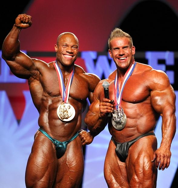 Phil Heath and Jay Cutler