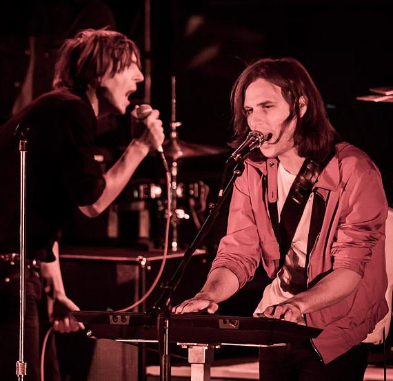 Phoenix performs at Boulevard Pool at The Cosmopolitan of Las Vegas