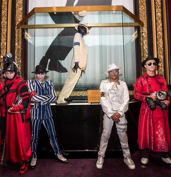 "Legendary Michael Jackson Costume from ""Smooth Criminal"" Unveiled at Michael Jackson One Theater at Mandalay Bay Las Vegas"