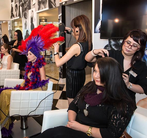Sam Villa's HairShow Blowout Bar