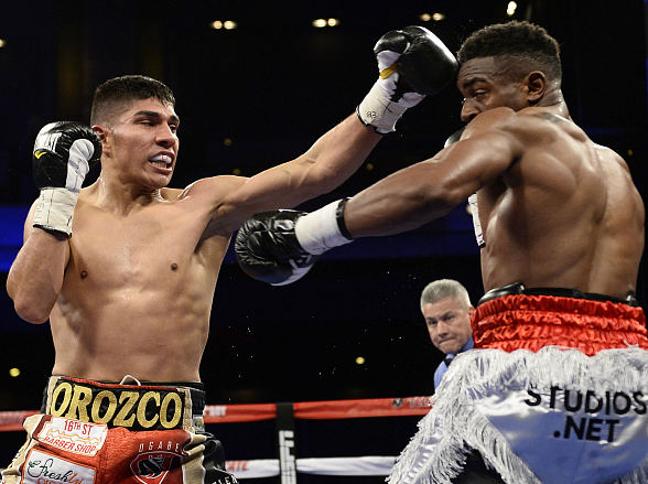 Antonio Orozco Maintains Undefeated Record with Knockout of Keandre Gibson to Claim WBC USNBC Super Lightweight Title at The Cosmopolitan of Las Vegas