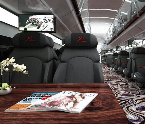 Concept photo of X-Train interior
