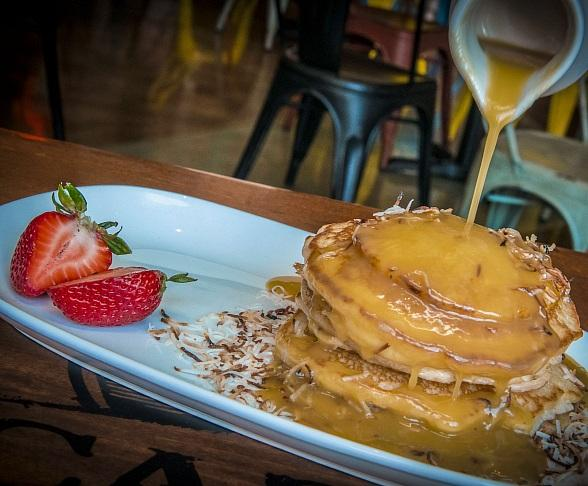 Flip Out for Piña Colada Pancakes at Cabo Wabo Cantina