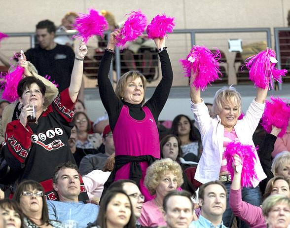 Pink in the Rink Fans