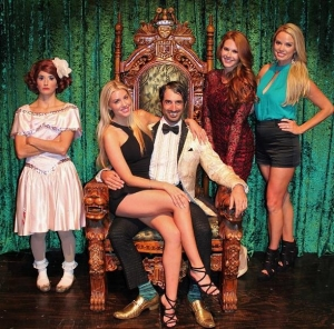 Playboy Playmates Jaime Edmondson, Heather Rae Young and Lauren Anderson Attend ABSINTHE at Caesars Palace