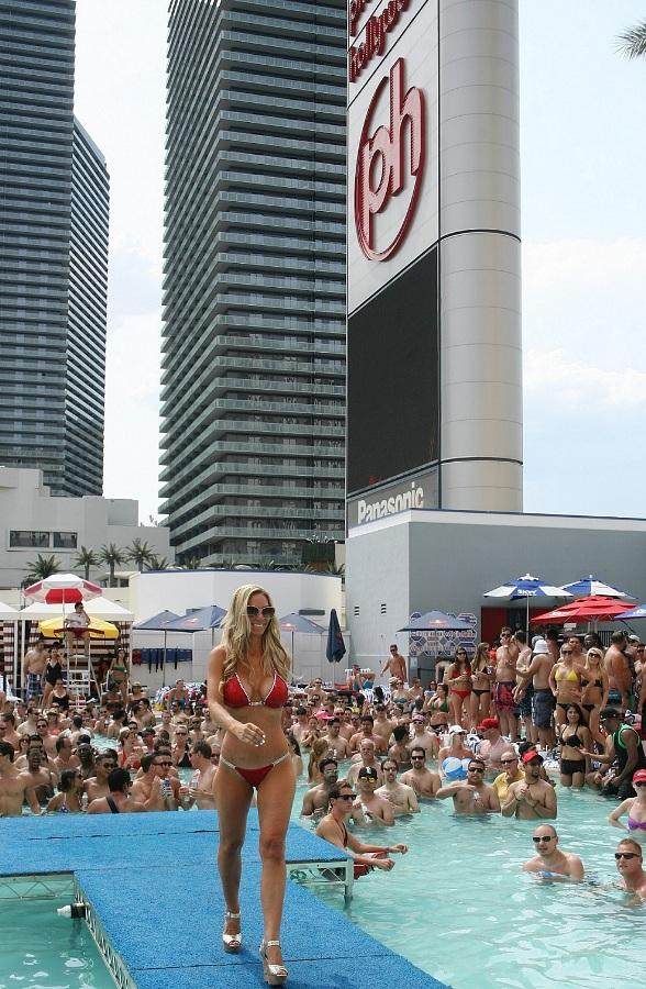 Pleasure Pool Bikini Contest at Planet Hollywood