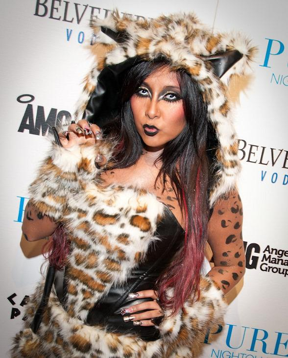 "Nicole ""Snooki"" Polizzi hosts at PURE Nightclub in Las Vegas"