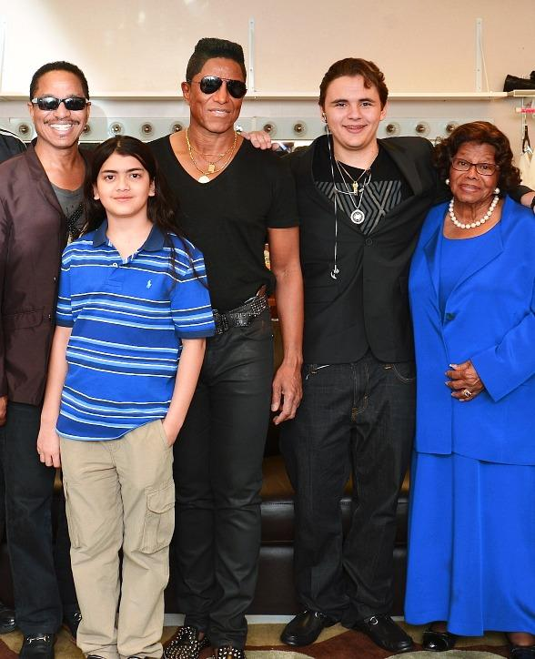 Prince and Blanket Jackson at RockTellz & CockTails Presents The Jacksons in Las Vegas