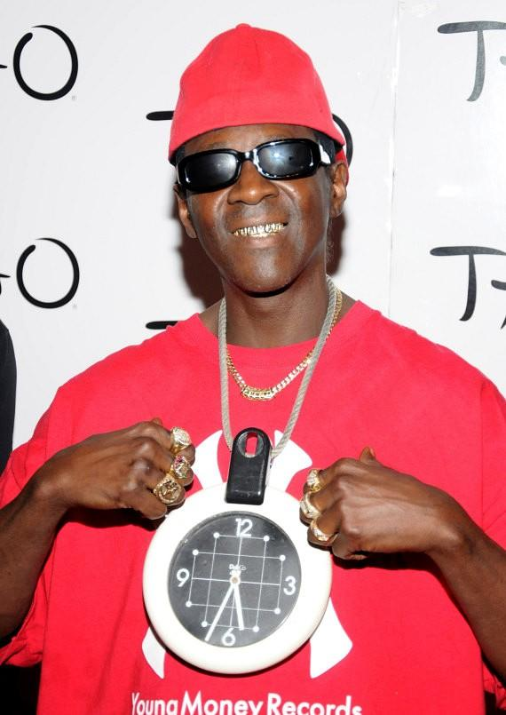 Flavor Flav at TAO Nightclub in Las Vegas