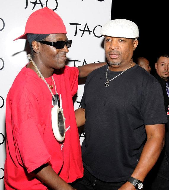 Flavor Flav and Chuck D at TAO Nightclub in Las Vegas