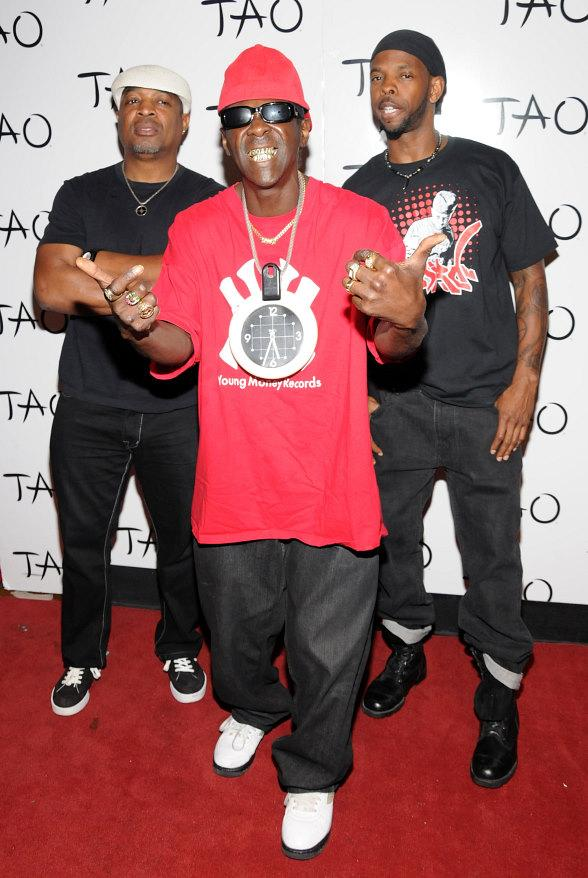 Public Enemy - Chuck D, Flavor Flav, DJ Lord at TAO Nightclub in Las Vegas