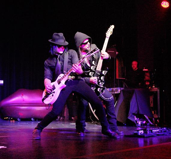 Queensryche Cabaret Show at Crown Theater & Nightclub