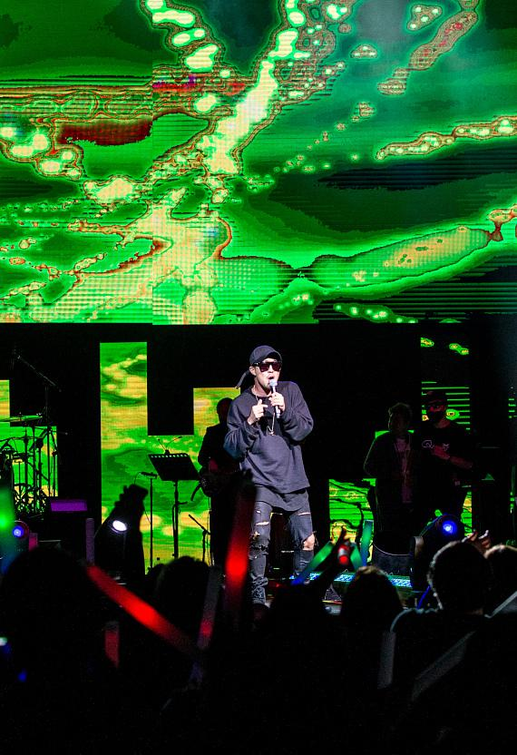 Running Man Bros captivate The Chelsea inside The Cosmopolitan of Las Vegas
