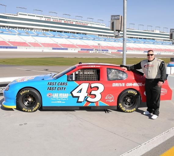 """Tanked"" cast drives at Las Vegas Motor Speedway"