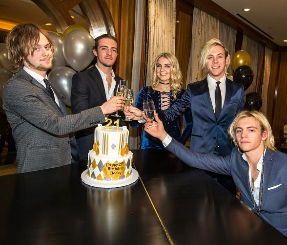R5 Celebrates Brother Rocky Lynch's 21st Birthday at The Venetian Las Vegas
