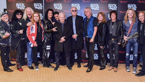 "REO Speedwagon visits ""Raiding the Rock Vault"" at Tropicana Las Vegas"