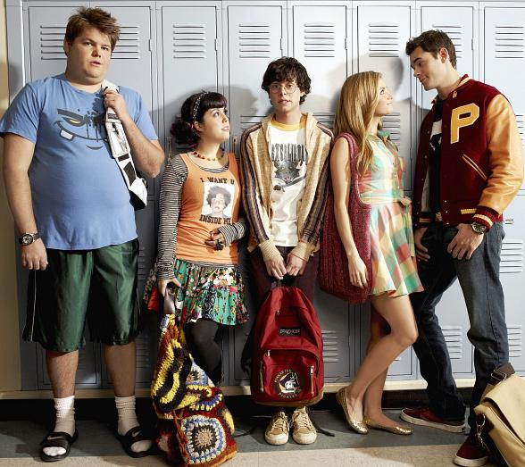 """Cast of MTV's """"The Hard Times of RJ Berger"""""""