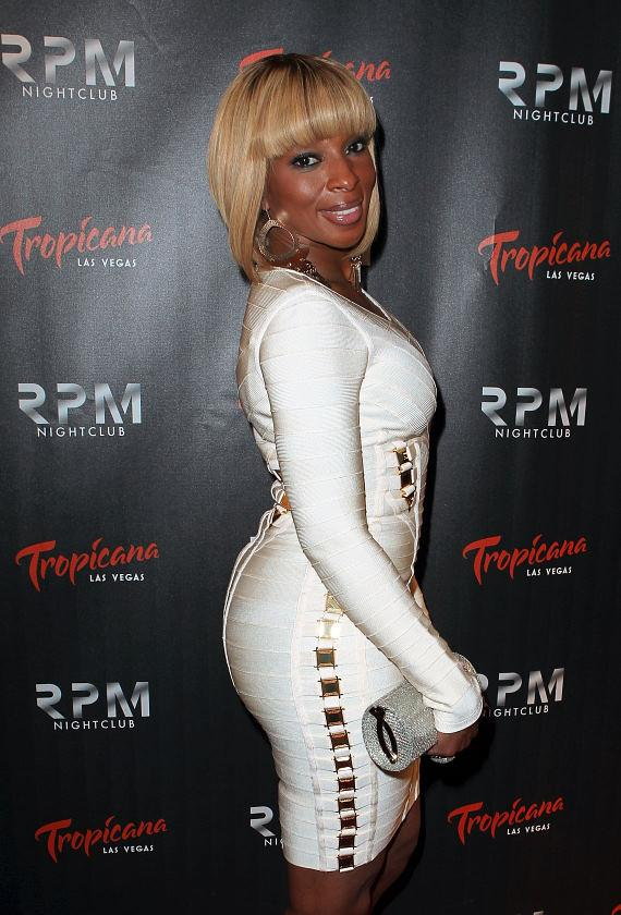 """Queen of Hip Hop Soul,"" Mary J Blige at RPM Nightclub"