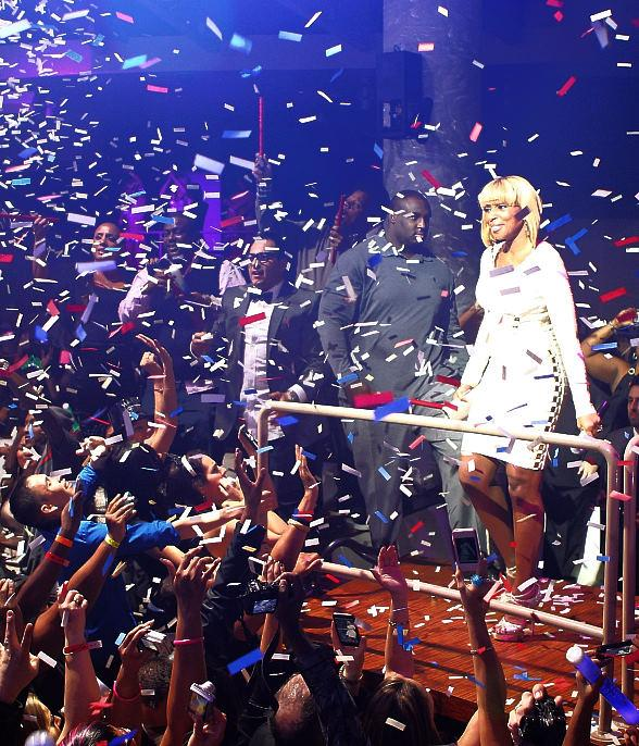Mary J Blige performs at RPM Nightclub on New Year