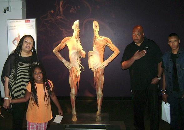 Sighting: Run DMC Visits Titanic: The Artifact Exhibition and Bodies...The Exhibition at Luxor
