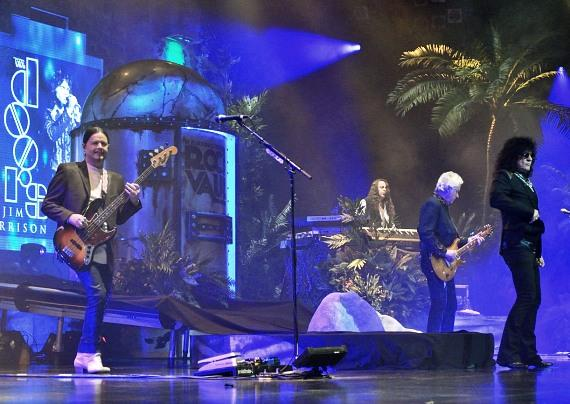 Raiding the Rock Vault performs at Las Vegas Hotel & Casino
