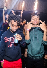 Hip Hop Duo Rae Sremmurd perform at TAO; Alesso spins at Marquee