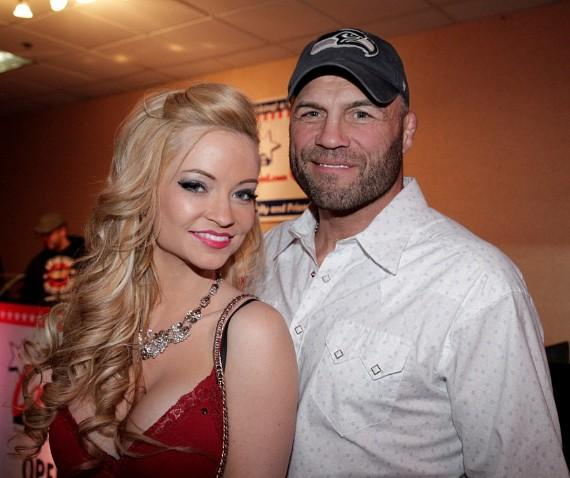 Randy Couture and Mindy Robinson-570