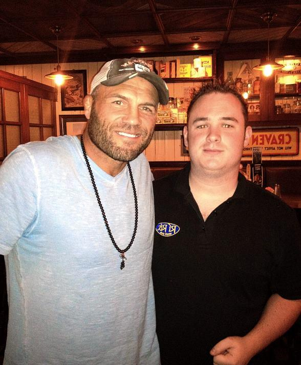 Randy Couture at Ri Ra Las Vegas