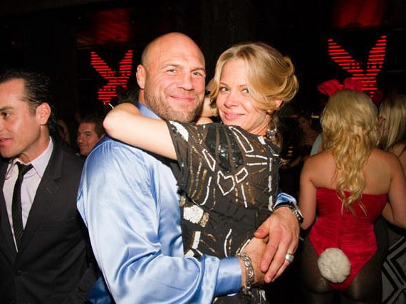 Randy Couture at Playboy Club