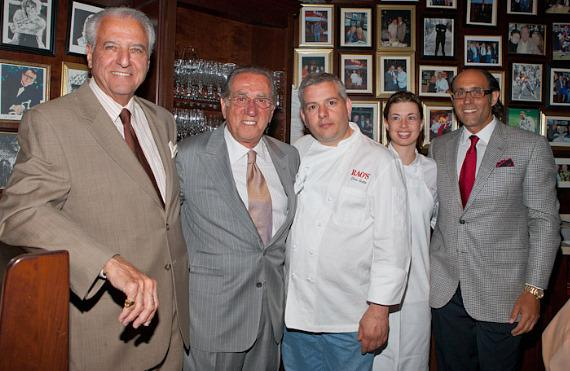 Ron Straci, Frank Pellegrino, Chef Dino from Rao's New York, Chef Nicole Gimes, Frank Pellegrino Jr. - Guests were welcomed as one of the family at Rao's and left fulfilled; enjoying Seafood Ravioli, Garganelli Zucchini Aglio Oli, and Rao's Traditional Meatballs—and that's just the pasta course! Bon Appétit West Coast Editor, Hugh Garvey, recounted the Uncork'd kick-off event held at the Rao's exclusive New York location in March and how he has continued to tell his friends about the amazing experience.