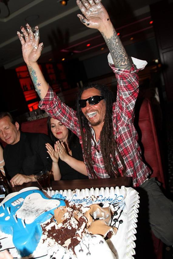 "Korn Celebrated James ""Munky"" Shaffer's Birthday at Rare 120 in Hard Rock Hotel & Casino"
