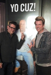 Jay DeMarcus and Joe Don Rooney of Rascal Flatts Dine at Martorano's at Paris Las Vegas
