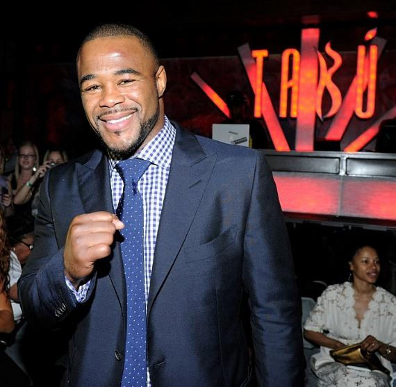Rashad Evans at Tabu Ultra Lounge