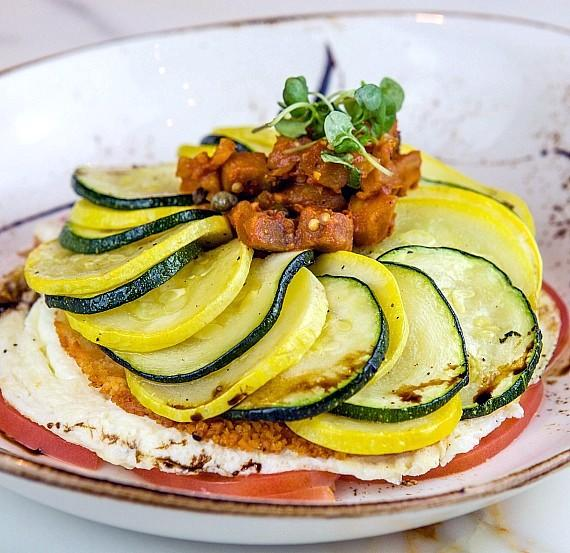 Ratatouille Egg White Fritatta at The Lucky Penny at Palms Casino Resort