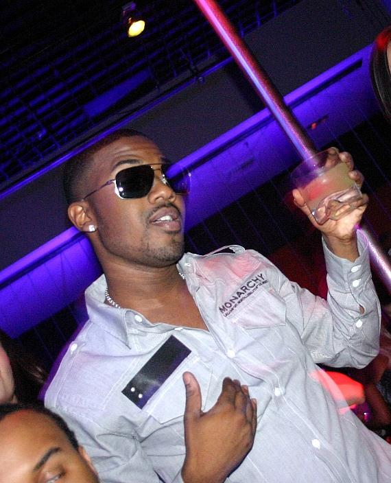 Ray J hosted the night at JET Nightclub on Saturday