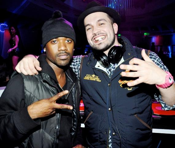 Ray J and SourMILK at Club Nikki