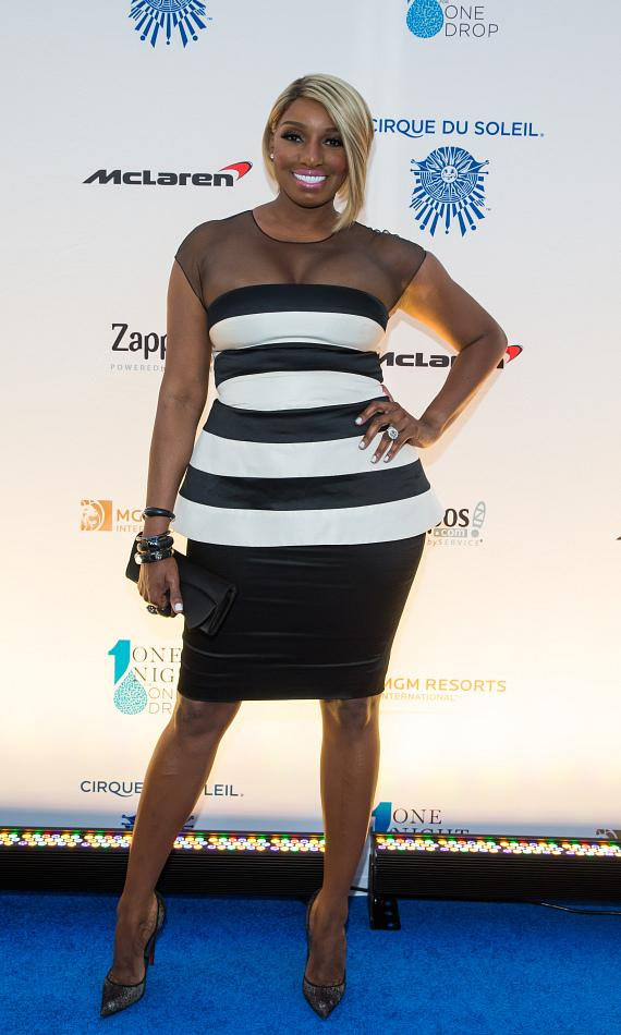 Reality TV star NeNe Leakes at 'One Night for ONE DROP'