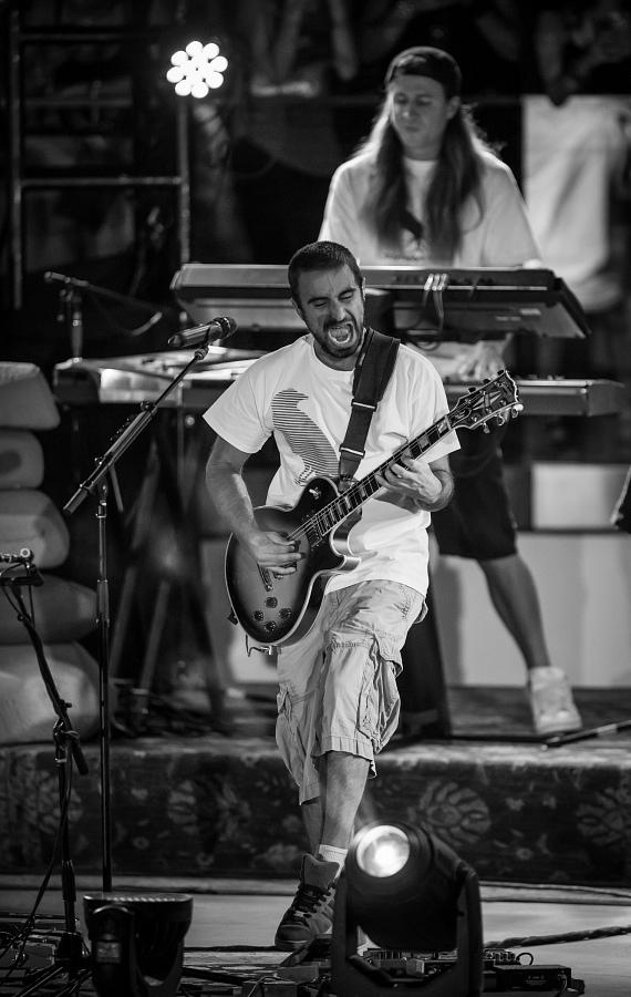 Rebelution performs at Boulevard Pool at The Cosmopolitan