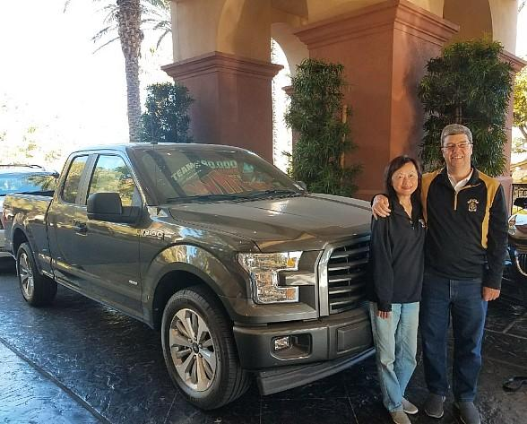 Summerlin Resident Drives Off in Brand New Ford F-150 from Rampart Casino Football Contest