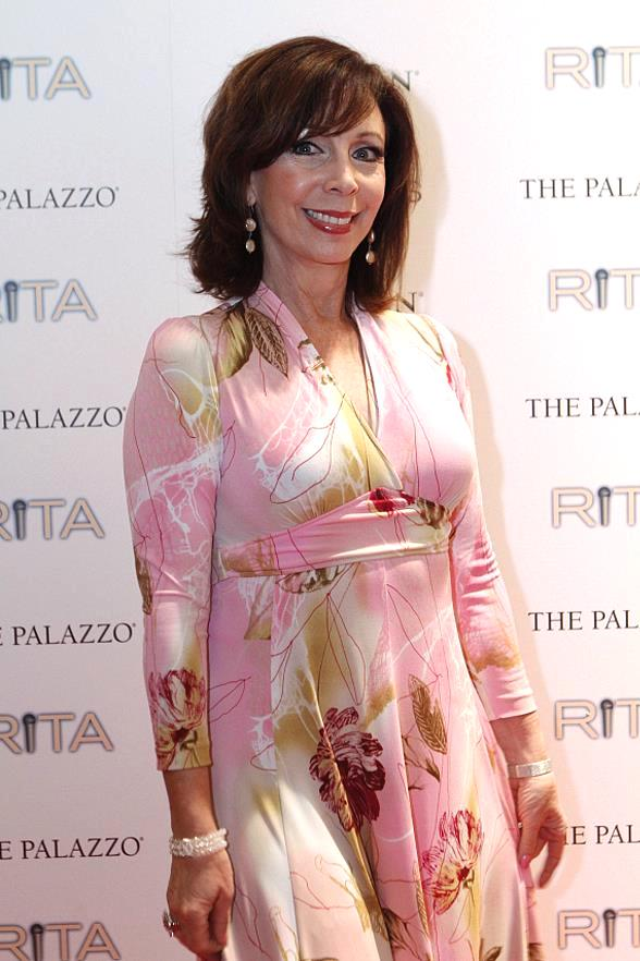 Rita Rudner on Red Carpet at The Venetian