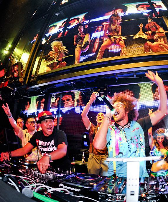 DJ Chuckie and Redfoo at Marquee