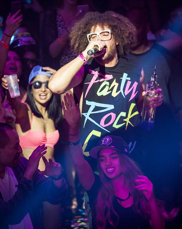 Redfoo & The Party Rock Crew Host TAO Beach Season Grand Opening
