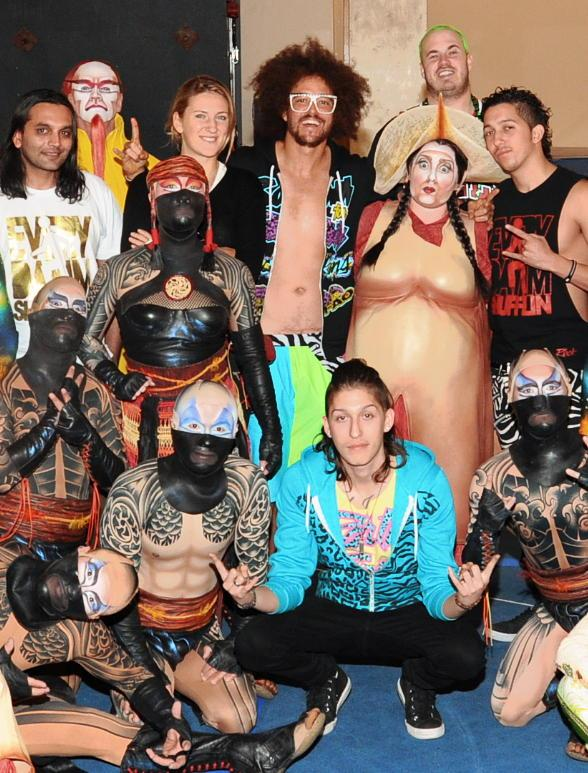 Redfoo of LMFAO Visits KÀ by Cirque du Soleil
