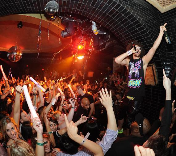 Redfoo performs at LAVO