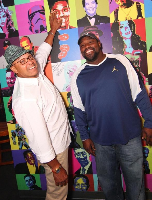Football Star Warren Sapp Celebrates NFL Hall of Fame Induction at Rockhouse
