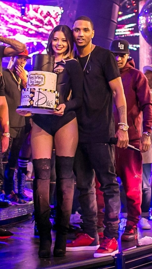 Resident Artist Trey Songz Celebrates Birthday with Drai's LIVE Performance at Drai's Nightclub Las Vegas