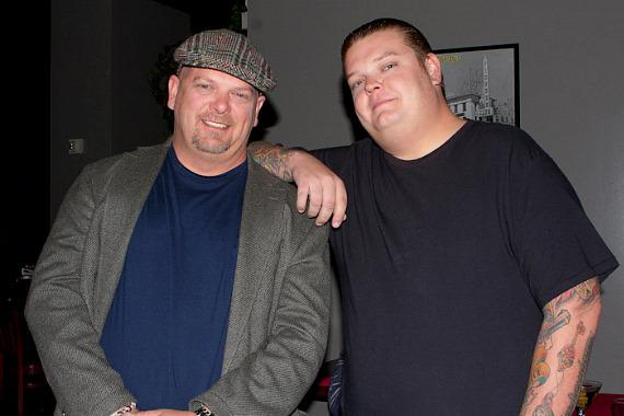Pawn Stars Rick Harrison and Corey Harrison